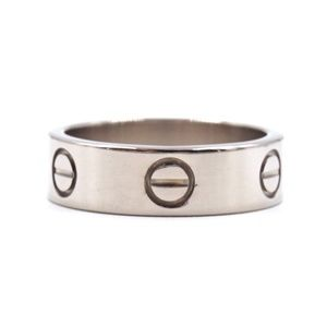 18k 750 Love Band Size 52 3.5mm Wide 5.75 Ring